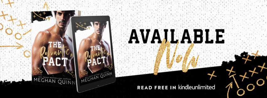 The Romantic Pact by Meghan Quinn – REVIEW – – The Banker & The Book Nerd